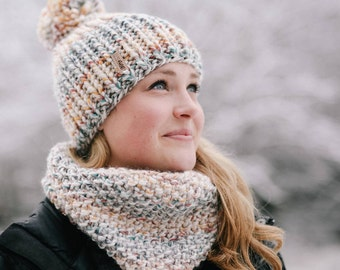 Seeded Cowl // CloseKnit Cowl // Infinity Scarf