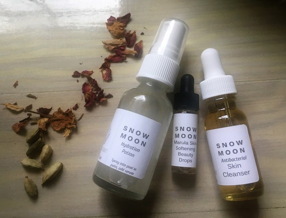 S N O W  M O ON - Winter into Spring Skin Care