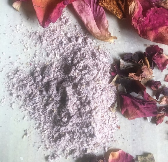 Rhassoul Rose Cleansing Grains and Masque