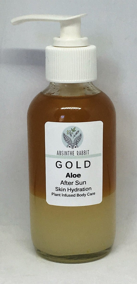 Body Organic  - Aloe Gold After Sun Skin Hydration