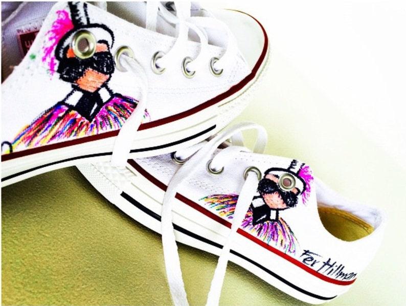 1f2ac864b0026 Costumed Converse Sneakers