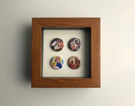 Kim & Kanye Set 1. Music pins Rock Wall Art Graphic Design   Etsy
