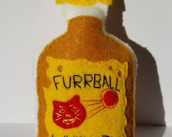 Furrball Cinnamon Whiskey Cat Toy