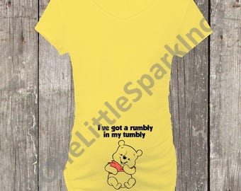 dd1ff50bab13d pooh bear maternity shirt disney maternity shirt