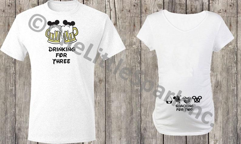 1dd831cb560 Mickey shaped snacks maternity shirt disney maternity shirt