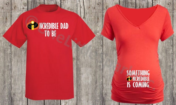 Incredibles Maternity Shirt The Incredibles Family Matching Etsy