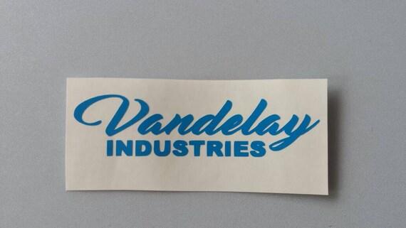 VANDELAY INDUSTRIES Seinfeld Vinyl Car Window Decal Free