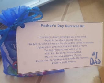 Father's day survival kits