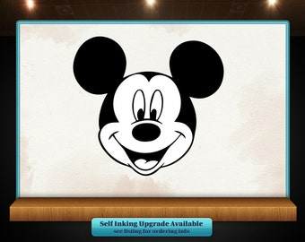 Mickey Mouse Character Rubber Stamp - Disney - Perfect for Crafts, Scrapbooks and more!