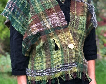 Rooted- Hand Woven Jacket/Vest