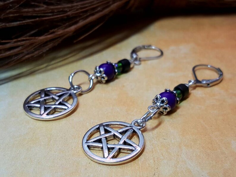 Witch/'s Brew Necklace /& Earrings