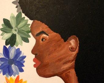 Afro Lady #2