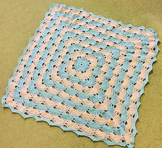 Bereit gemacht Unisex häkeln Baby Decke Schale/Virus Muster | Etsy