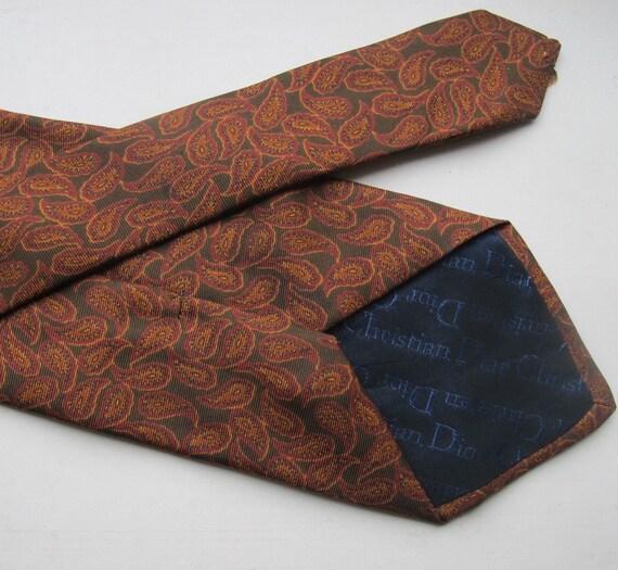 Rare Christian Dior 50s Vintage 'Monsieur' Tie Bro