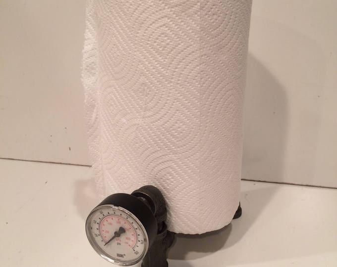 Industrial Paper Towel Holder with Gauge