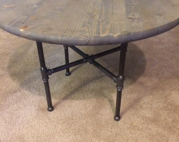 Urban Industrial Pipe Kids table (PICK YOUR STAIN)