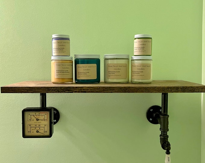 Soy candle - Handmade with love - 10 Different Scents