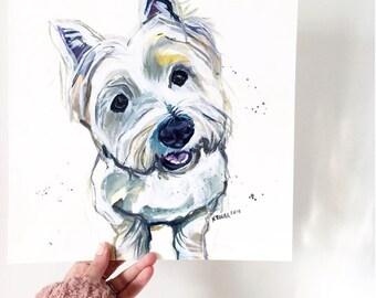 Custom Pet Portrait - Acrylic