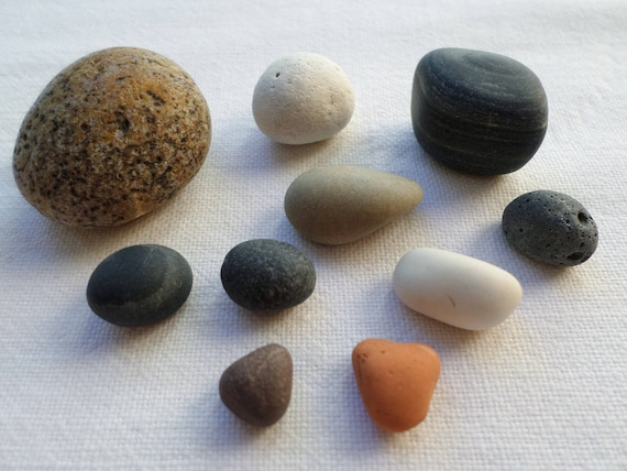 Round And Curved Pebbles Stone Ball Zen Garden Decoration Etsy Enchanting Stone Ball Garden Decoration