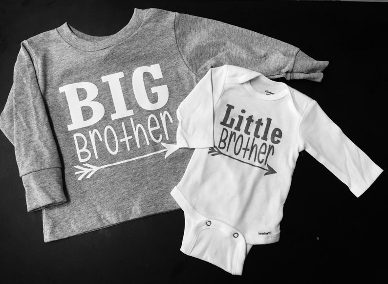 Big Brother_Little Brother Long Sleeve Set with Arrow image 0