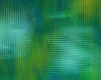 Aflutter Green Woven Spectrums by Elizabeth Isles Studio E quilting cotton fabric by the yard metre 3915-66 abstract