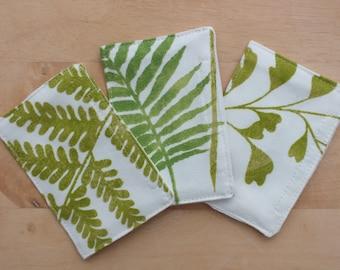 Drawer Sachets, Fern Scented Envelopes, Scent Packs Refillable, Fragrance Dresser Sachet