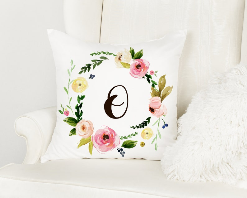 Baby shower gift baby shower gift decor baby room decor Baby girl nursery decor animal pillow personalized pillow Kids/' room decor