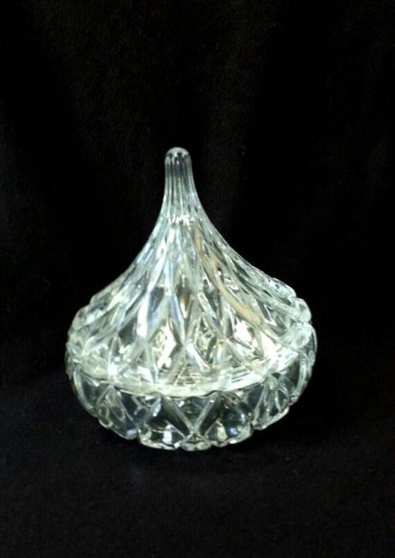 Vintage Shannon Crystal Designs Of Ireland Hershey Kiss Shape Etsy