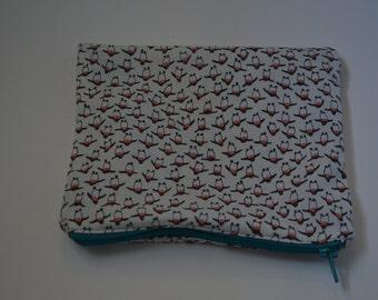 Penguin Zip Pouch, Makeup Bag, Cosmetic Bag, Pencil Case