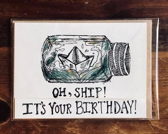 Oh, Ship! It's Your Birthday!
