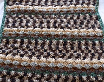 Woodland Crochet Baby Blanket