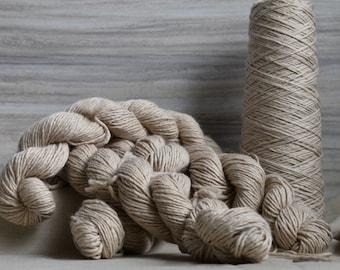 Natural Suri Alpaca Singles Yarn