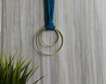 Alpaca Necklace - Yarn Necklace