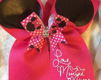 Size 3T M/&M Candy Inspired Shirt and Cheer Bow Set
