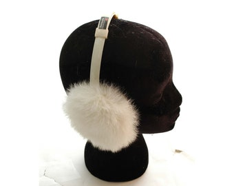 Antigua And Barbuda Name Red Earmuff Ear Warmer Faux Fur Foldable Outdoor
