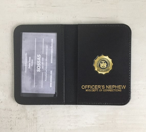 N.Y.S. Correctional Services Officer's Family and Friends courtesy case wallets