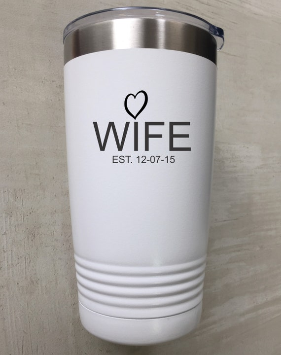 Personalized Polar camel cup- wife