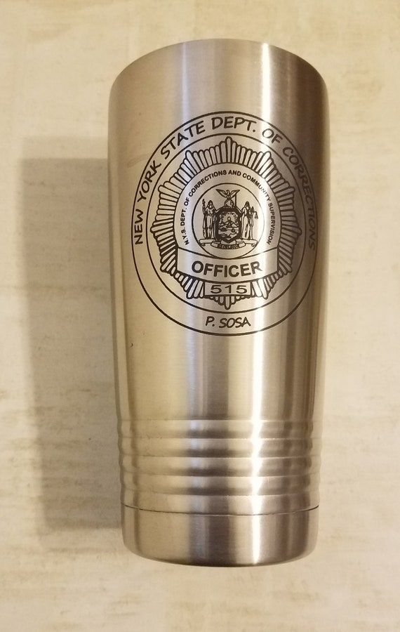 Personalize an N.Y.S. Dept. Of Corrections POLAR CUP