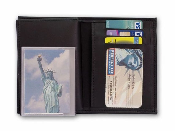Badge Wallet With Double ID & 3 CC Slots