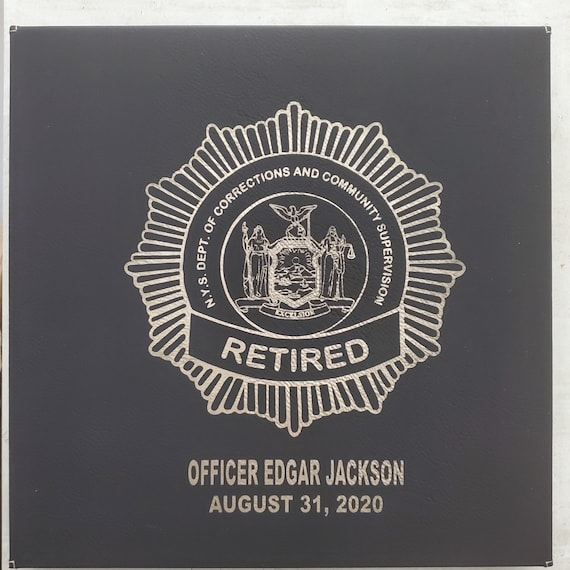 NYS CO Badge Wall Decor - Personalized Canvas