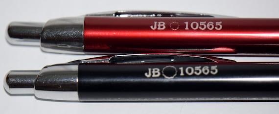 Gloss Ball Pens with rubber Gripper