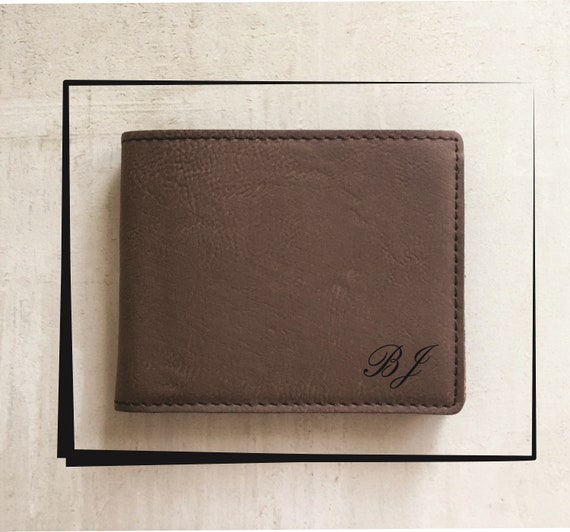 Personalized bifold wallets