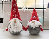 CROCHET PATTERN GNOME Amigurumi toy christmas