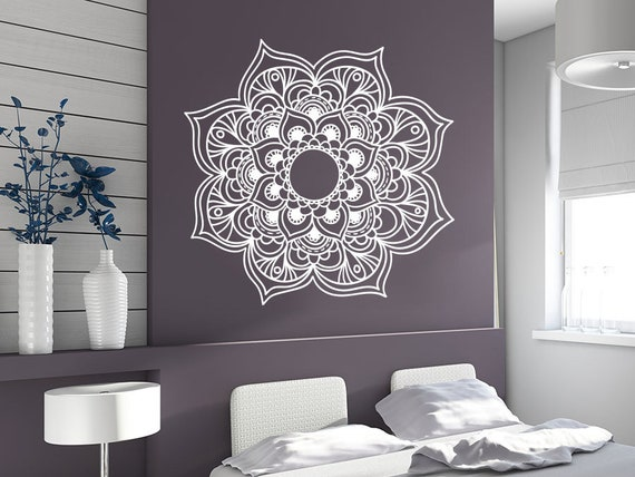 Mandala Wall Stickers Flower Decals Murals For