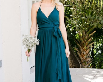 1be543043e0 Emerald maxi dress