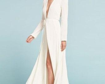 c19110dc59e Custom wrap dress