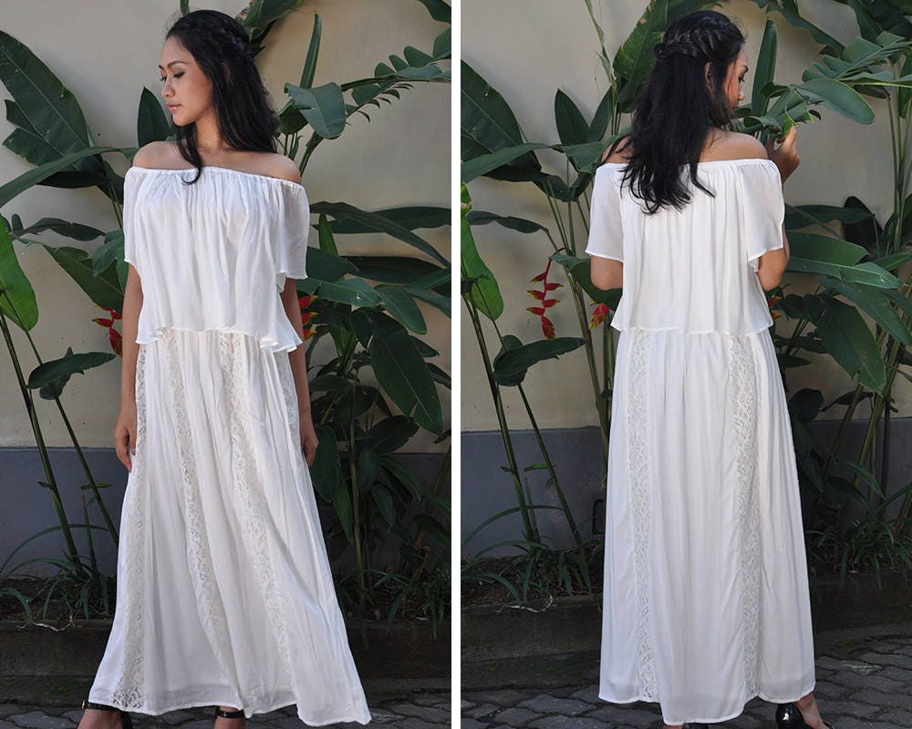 26cf3e6d7a Maternity Dress Nursing Dress White Baby Shower Dress