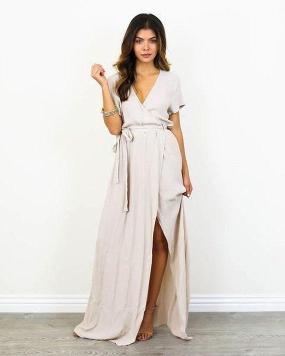 custom dress Short Dress Baby Shower Dress Wrap Dresses Wrapdress Bridesmaids Dress Summer Dress Maternity Dress Wrapdress