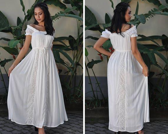 Maternity Wedding Gown: Maternity Dresses White Dress Wedding Dress Summer Dress