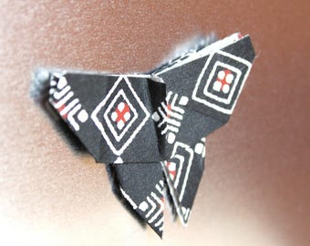 Origami butterfly magnet, japanese paper